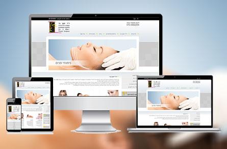 """בניה וקידום של אתר אינטרנט עבור ד""""ר בר"""