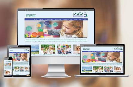 """בנייה וקידום אורגני וממומן של אתר אינטרנט עבור חברת מטר""""ה"""