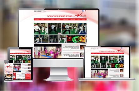 בניית אתר אינטרנט עבור סטודיו נעה
