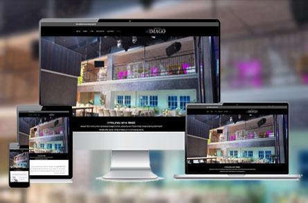 בניית אתר אינטרנט עבור IMAGO - אירועי בוטיק